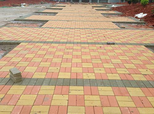 彩砖工程案例